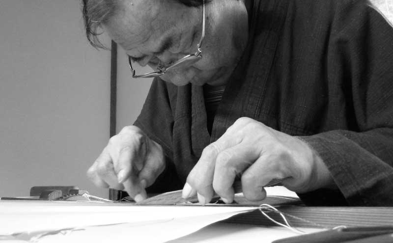 伝統工芸士 つづれ織り